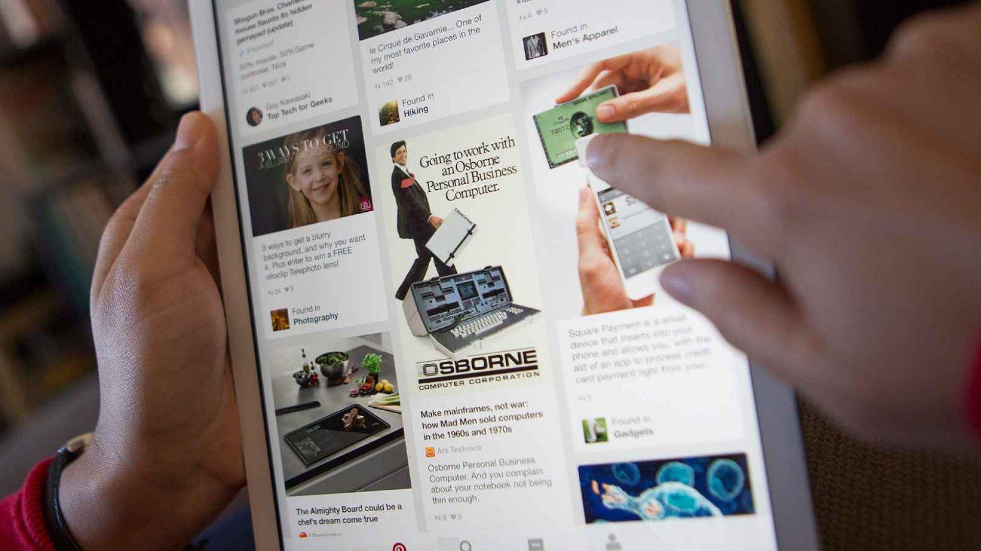 Pinterest Raises $150 Million at a $12 Billion Valuation