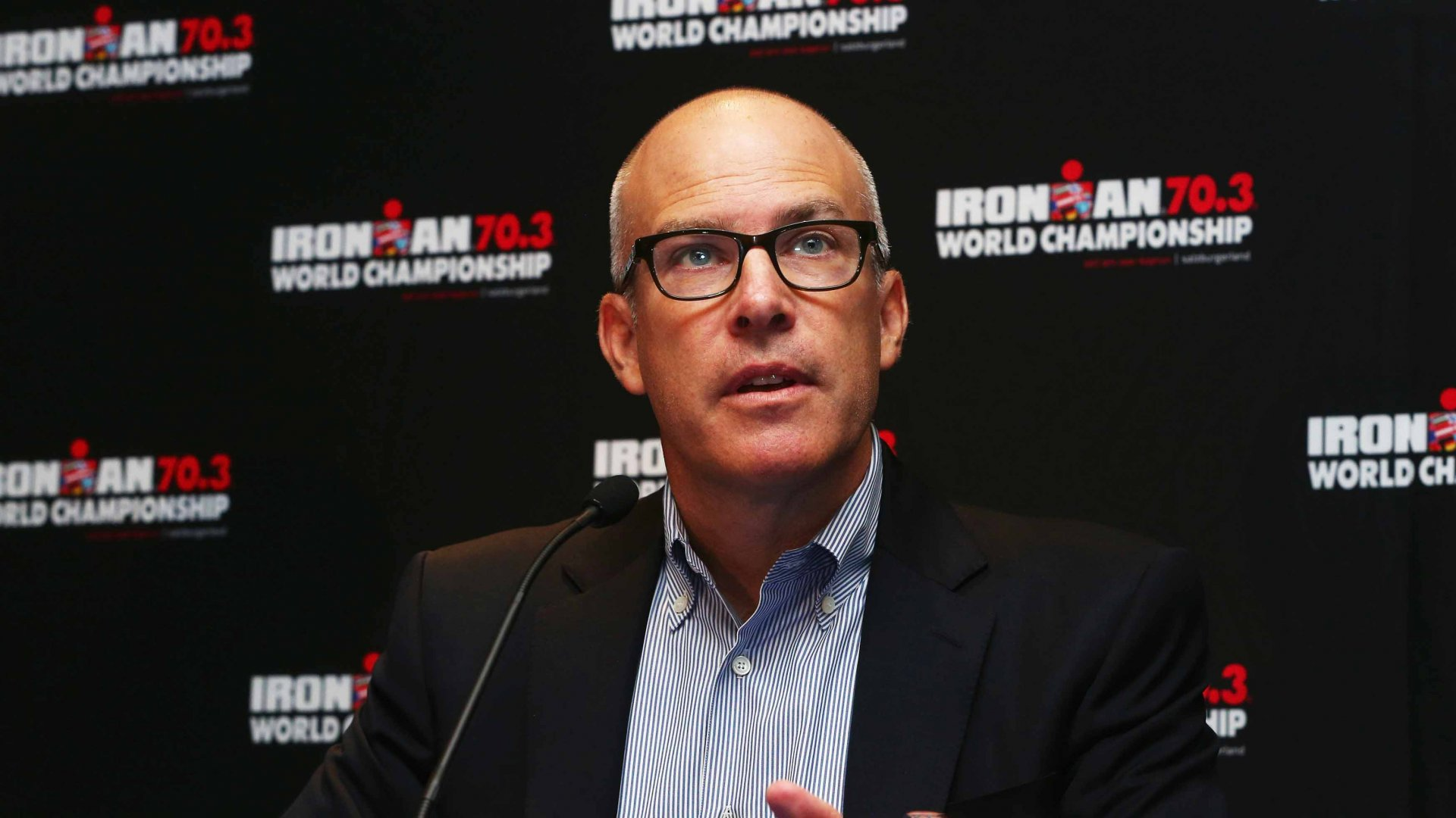 Andrew Messick, Chief Executive Officer of IRONMAN.