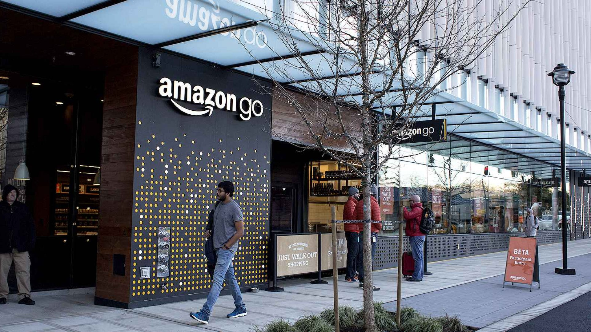 Amazon's checkout-less convenience store is still in the testing stage.