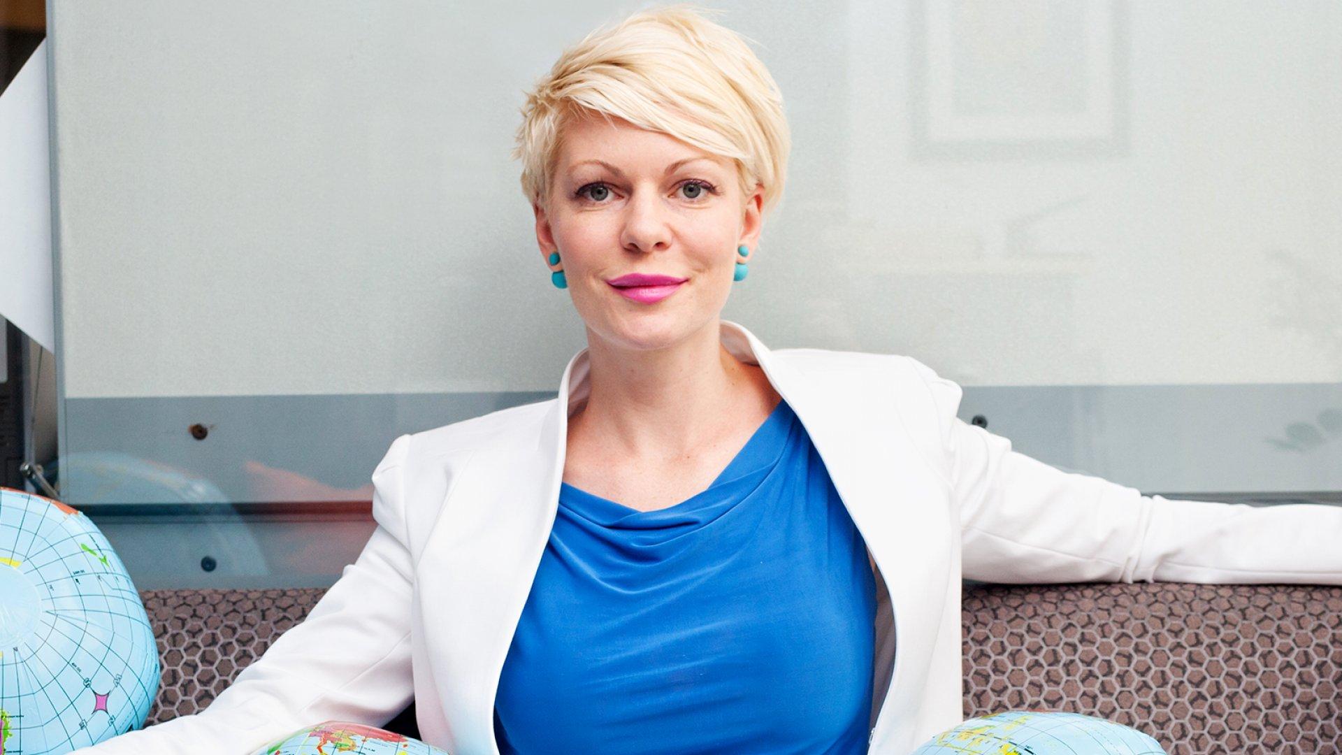 Nicole Sahin of Globalization Partners.