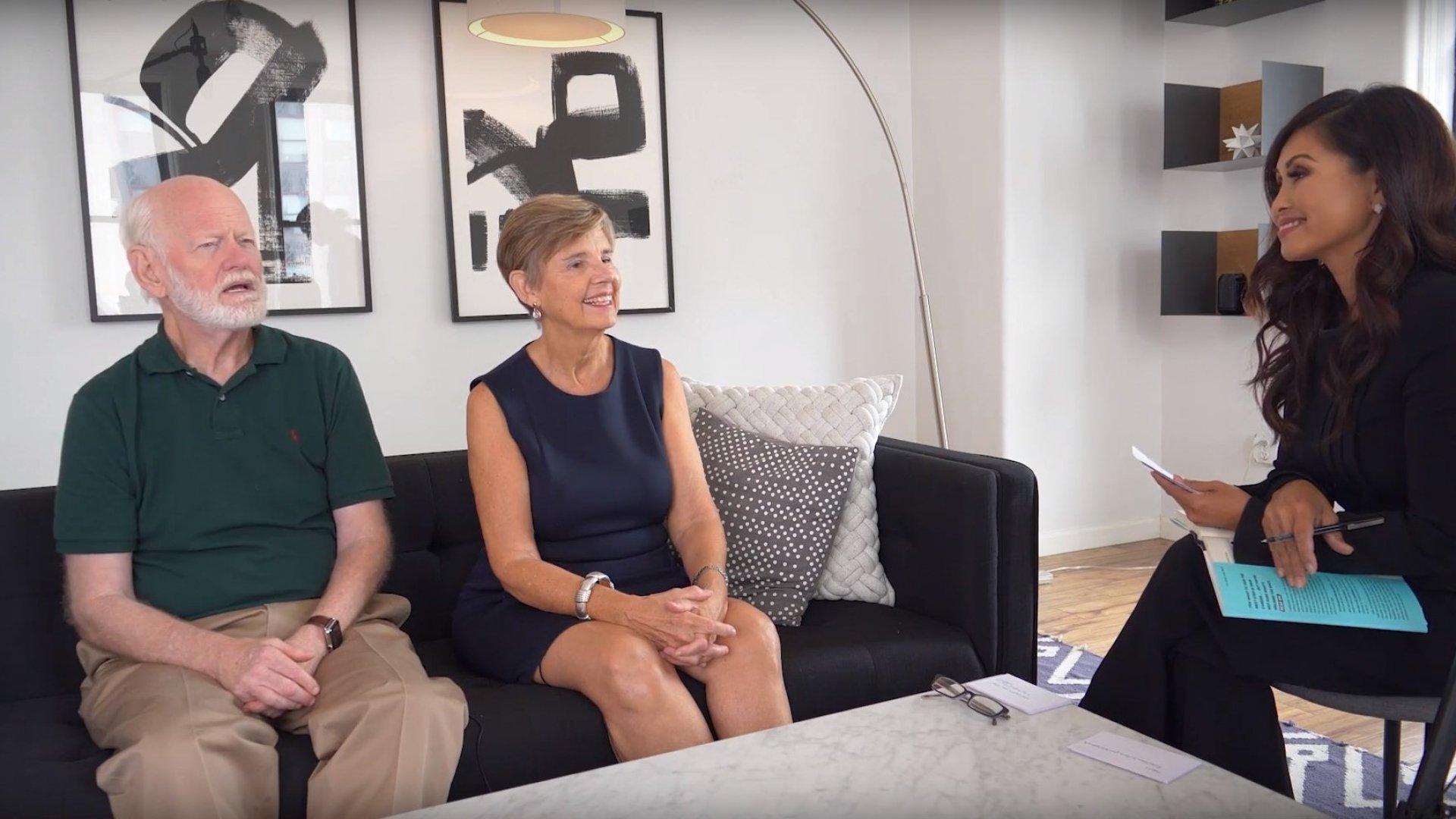 Executive coaches Marshall Goldsmith and Sally Helgesen talk to EO Wonder podcast host Kalika Yap.