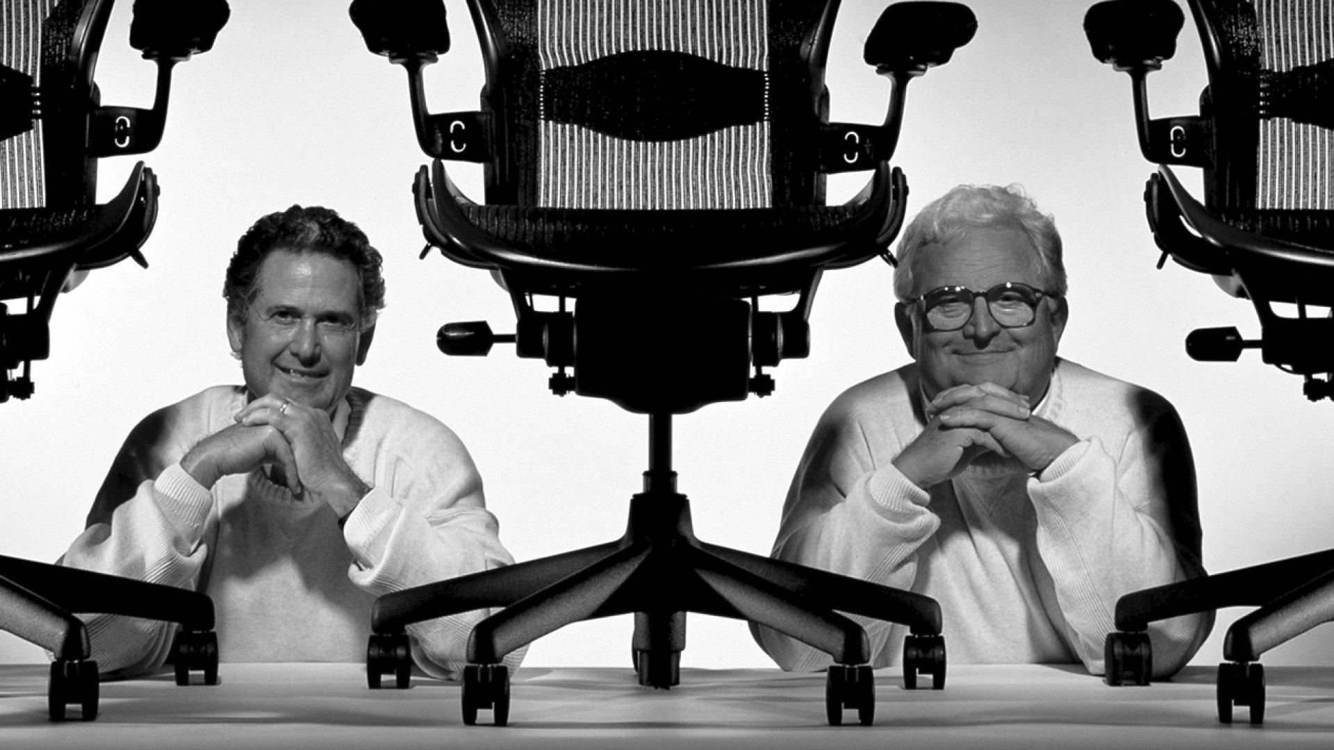 Iconic Aeron Office Chair Creators Don Chadwick and Bill Stumpf