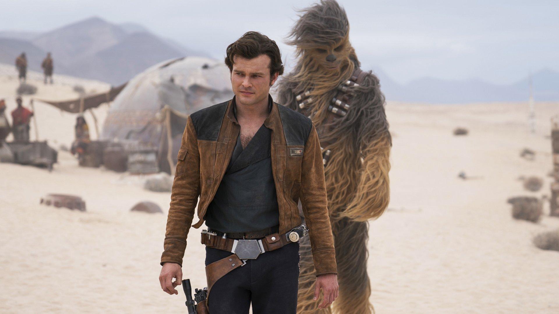 Still from <i>Solo: A Star Wars Story</i>.