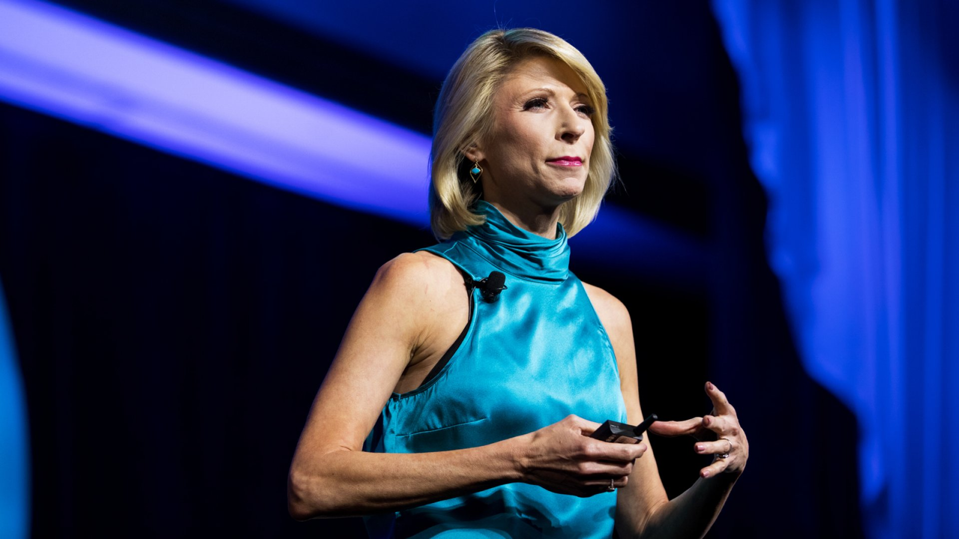 Amy Cuddy, social psychologist.
