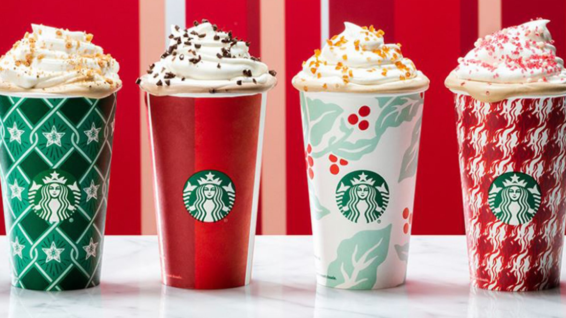 Starbucks Stirs up Anti-Christmas Subversion Again With Its New Holiday Cups (Well, One of Them)