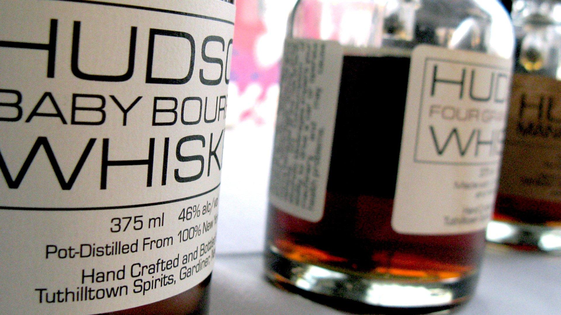 Tuthilltown Spirits Hudson Baby Bourbon Whisky