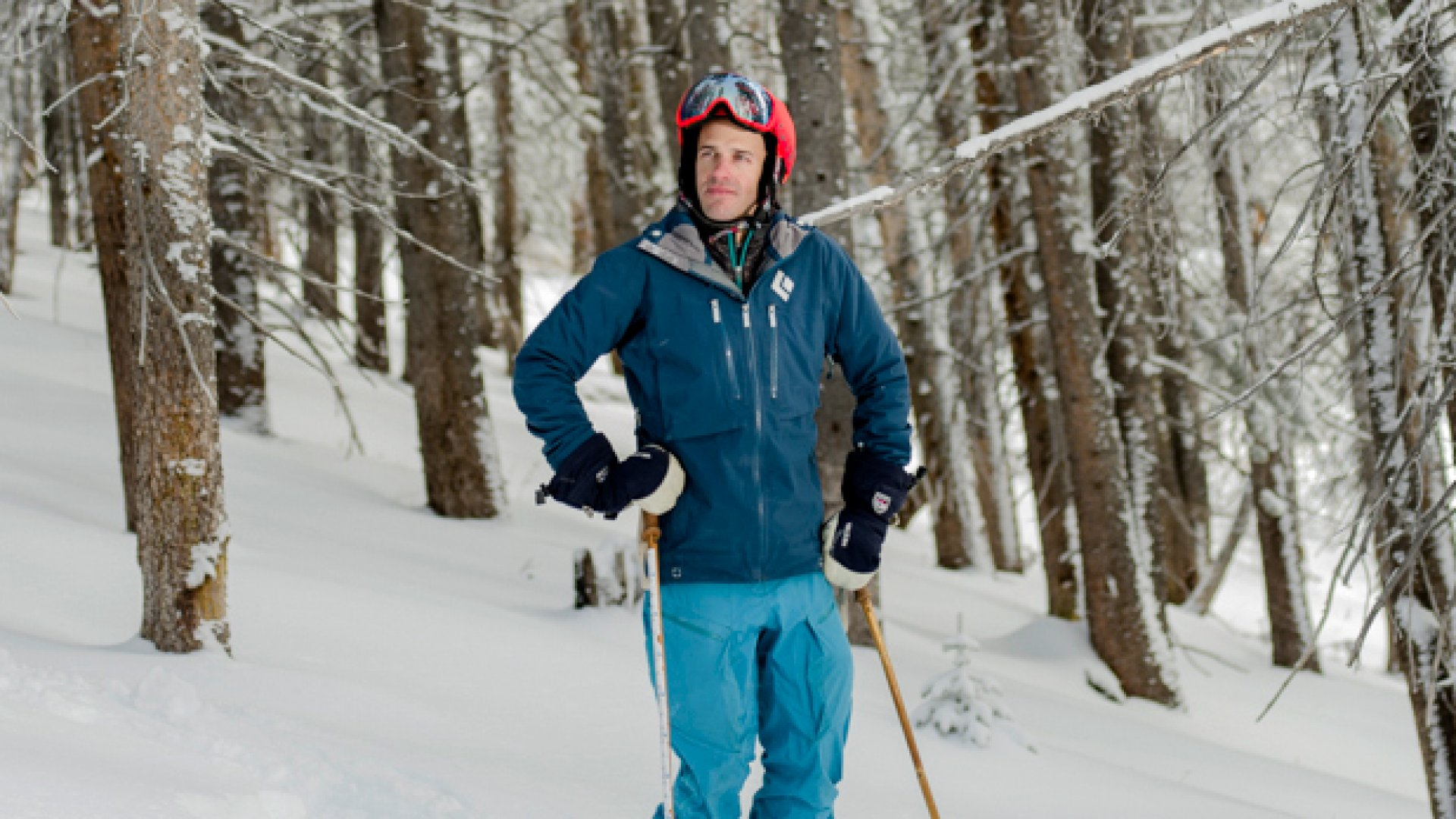 """""""It's like being at the top of a cliff,"""" Joel Gratz, 36, says of starting OpenSnow. """"You know there's plenty of powder. You know your skills are probably good enough. You know you're probably not going to get hurt. You've just got to decide to go for it."""" He now employs a team of seven forecasters."""