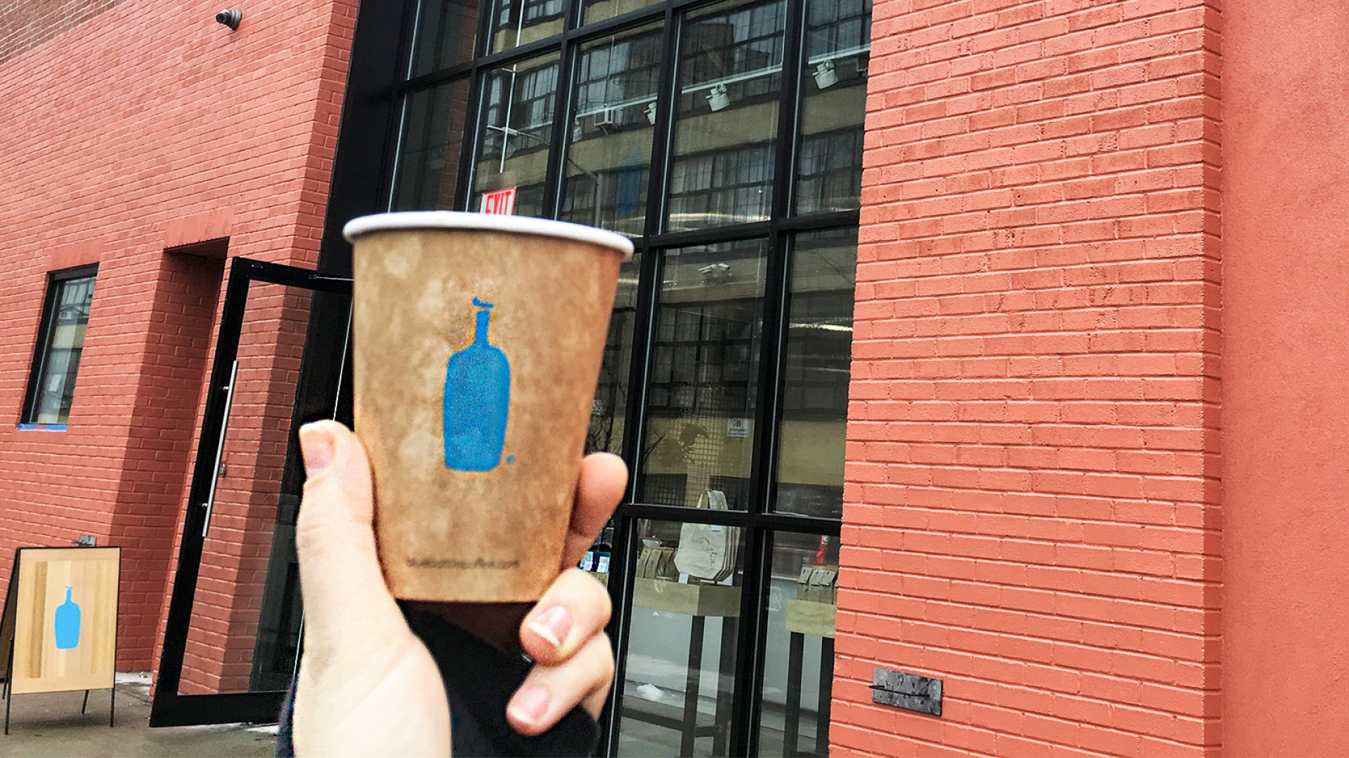 Blue Bottle Bushwick.