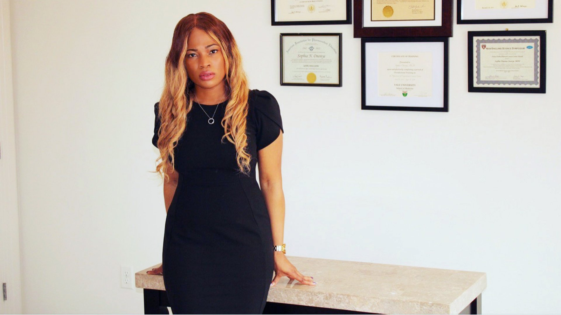 Sophia Ononye, after years in the lab, started her own scientific consulting firm in New York City.