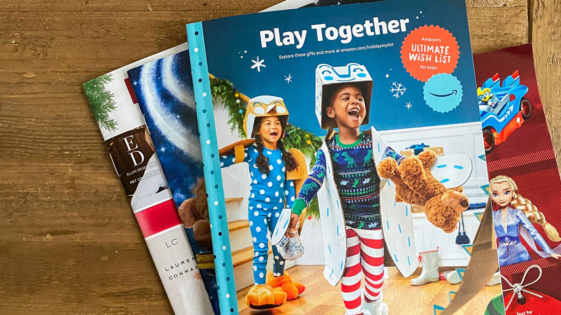 Amazon's Sending Out an Old-School Toy Catalog and It's a Kid's Best Friend and a Parent's Worst Nightmare.