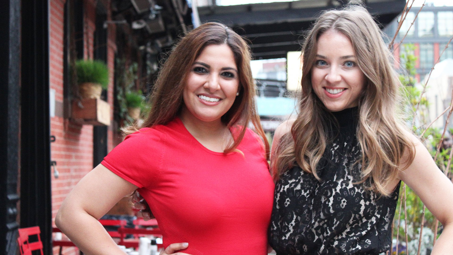 Invibed co-founded Dani Pascarella (left) and Korrie Martinez.