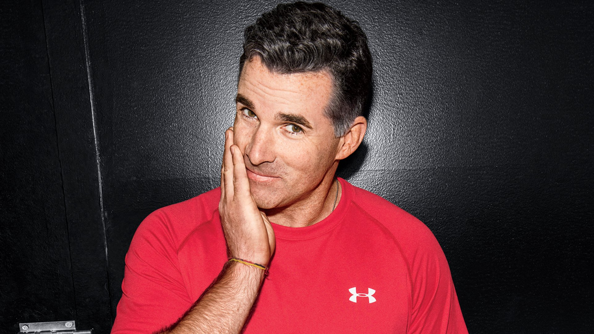 Former college football player turned sportswear entrepreneur Kevin Plank is betting that fitness trackers and apps will help Under Armour beat Nike. It's a tall order, but don't underestimate what this guy and his whiteboards can accomplish.