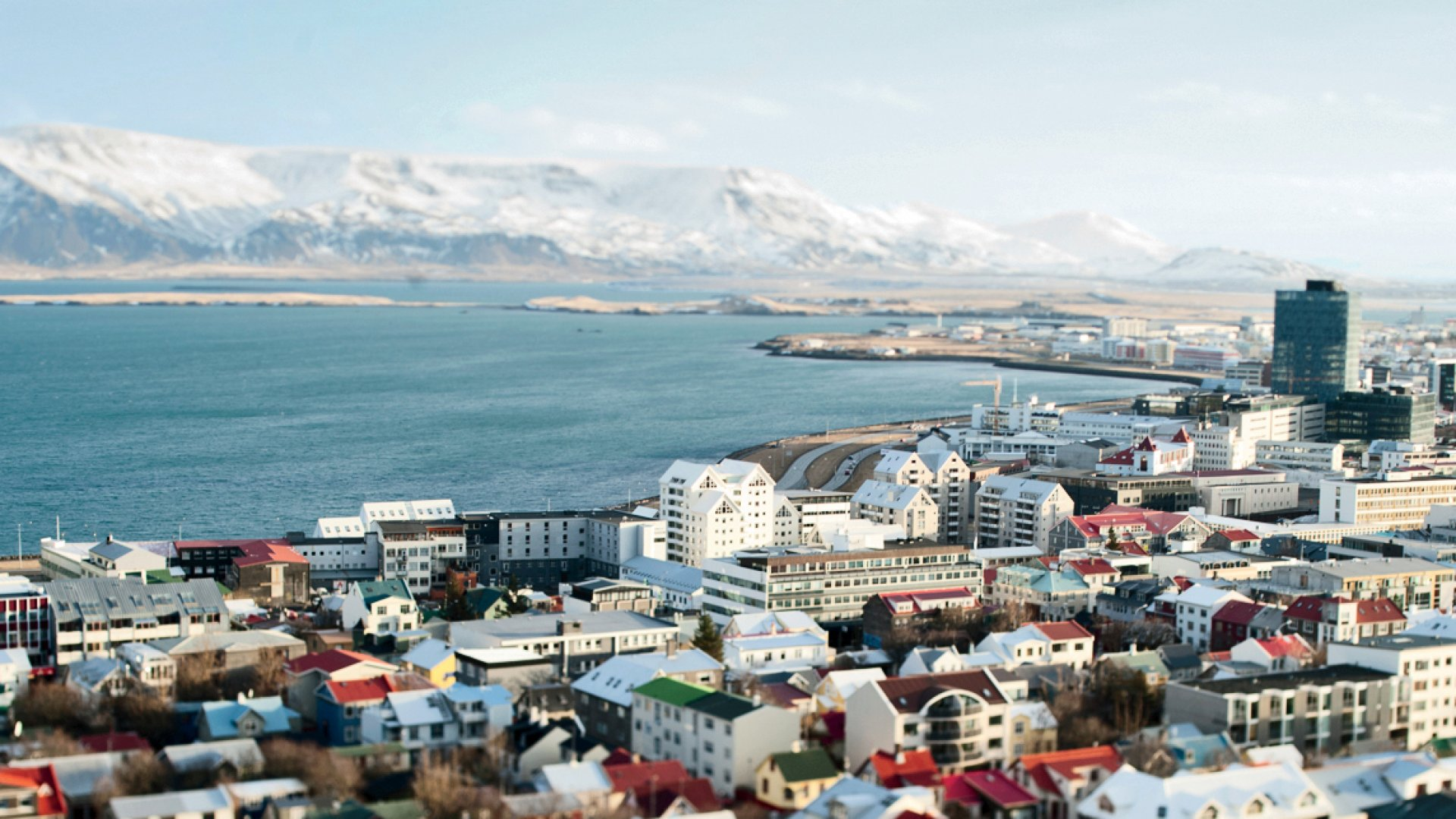 Iceland's Reykjavik boasts views like this--and the most Inc. 5000 Europe companies per capita.