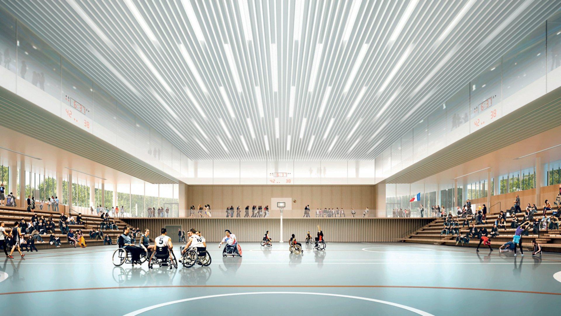 Interior of the GA Smart Building.