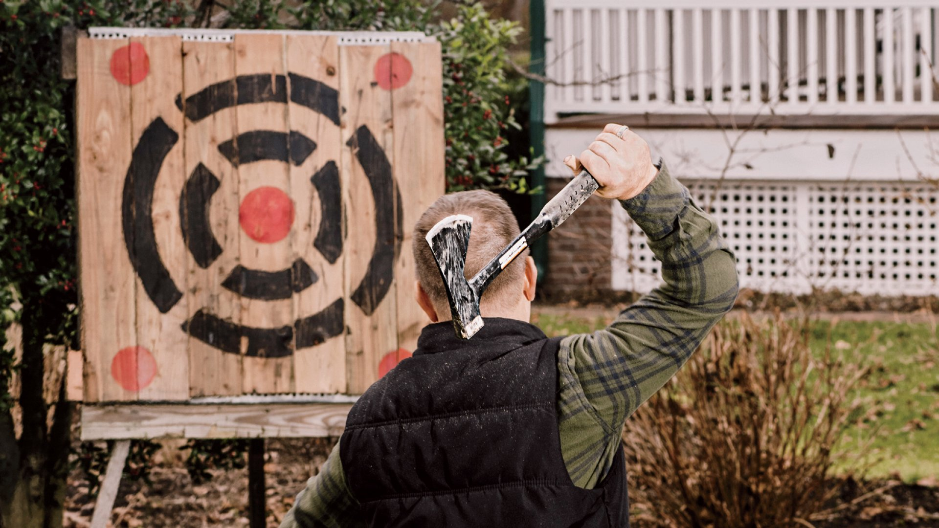 How These Founders Turned Axe-Throwing Into a Lucrative Business