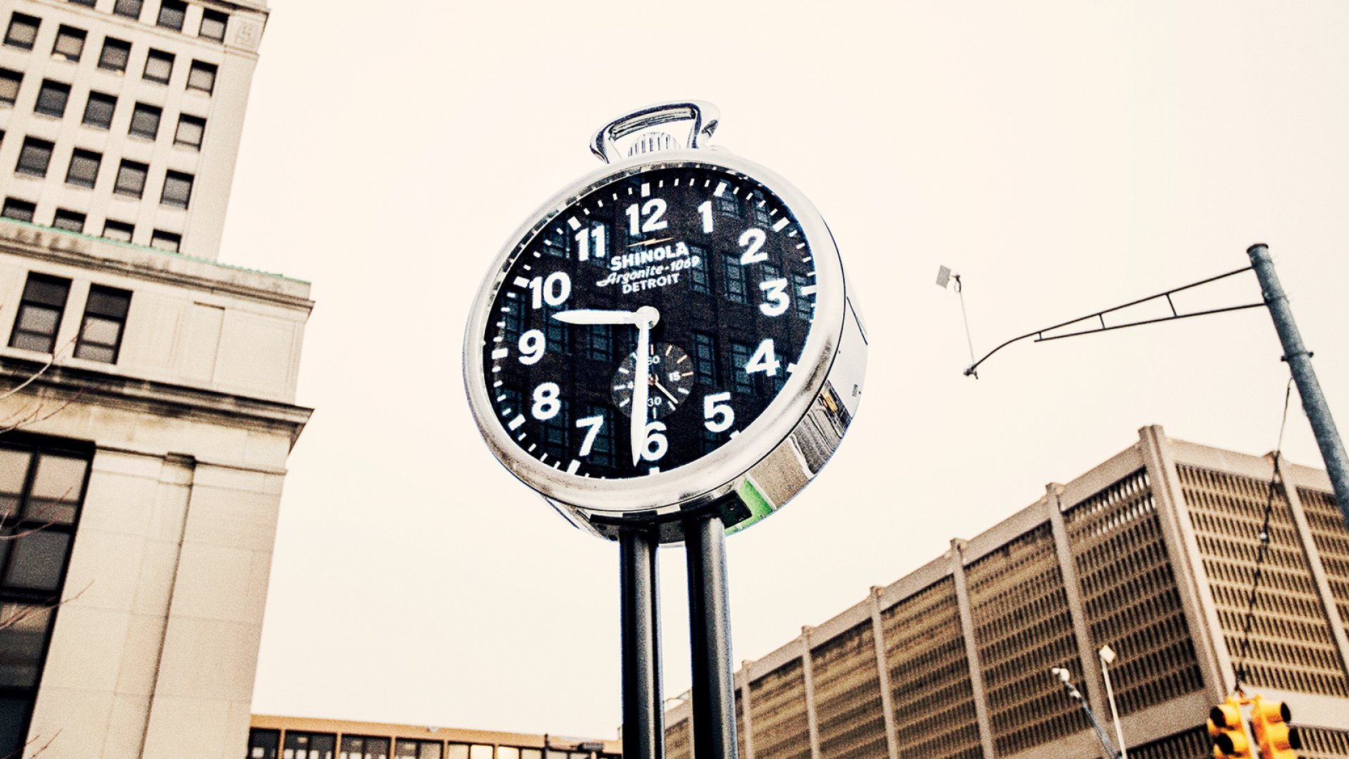 With its branded clock now part of Detroit's cityscape, Shinola has become inseparable from the Rust Belt city's fight for survival.