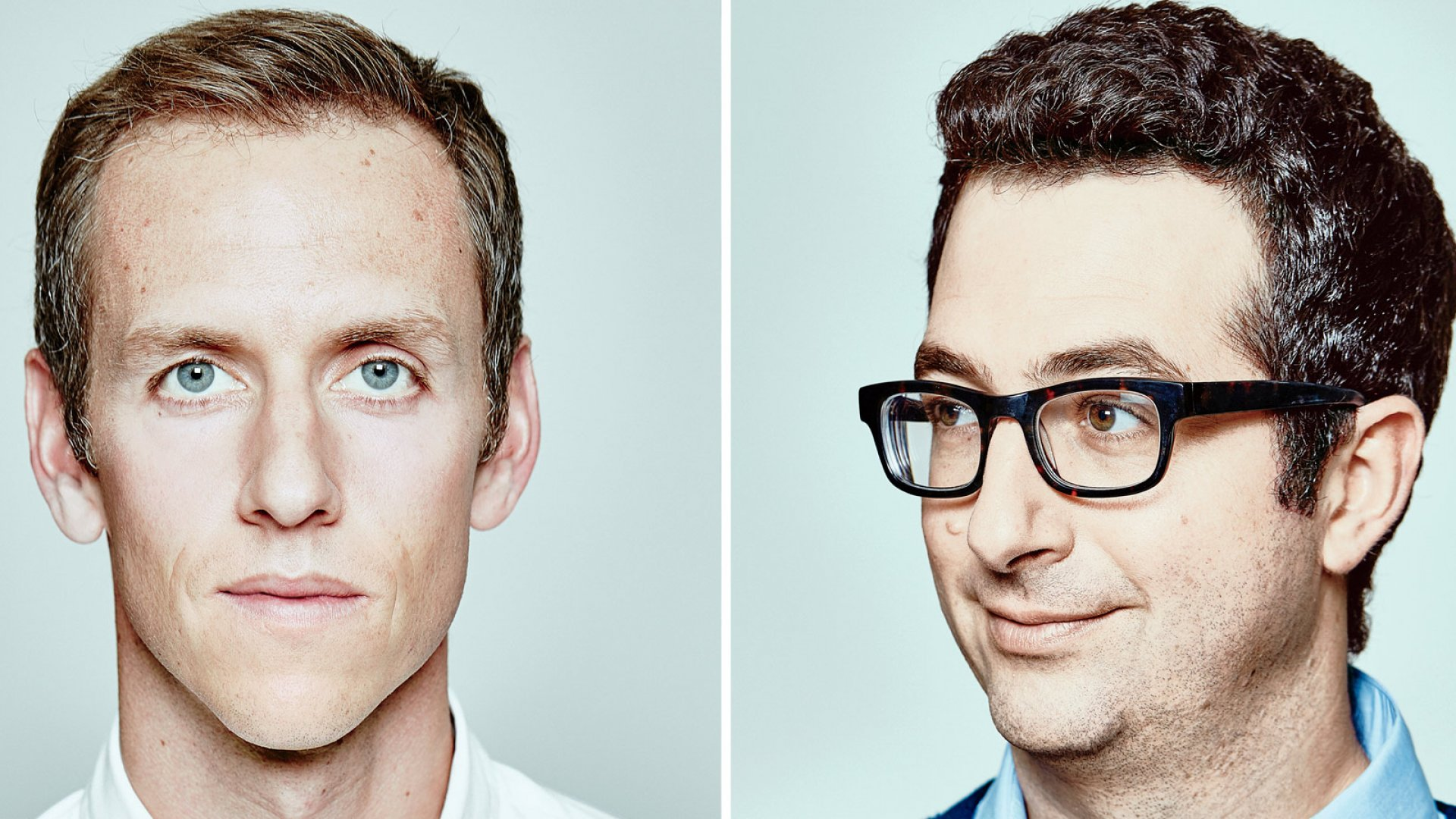 Harry's co-founders Andy Katz-Mayfield (left) and Jeff Raider have raised more than $250 million to try to upend Gillette, Schick, and Dollar Shave Club.