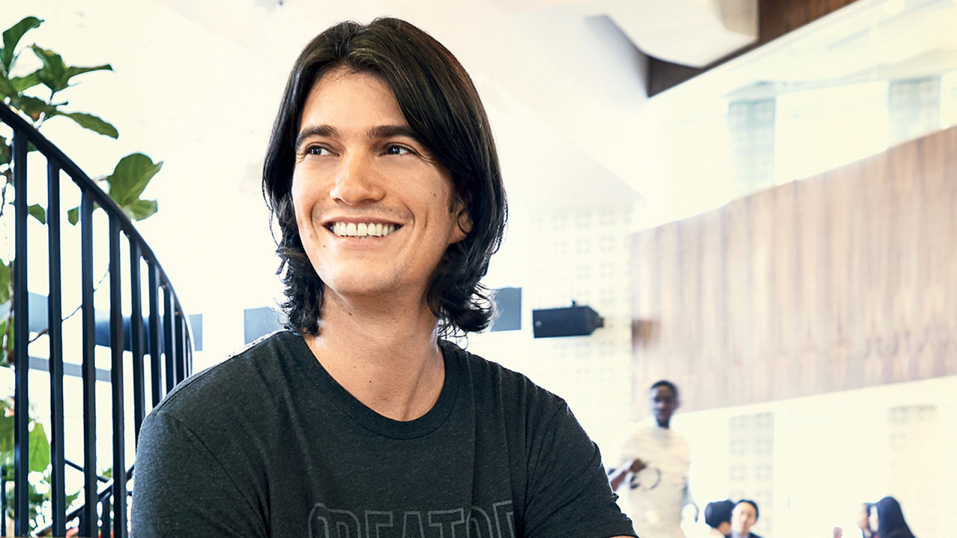"""It took me five businesses to get to WeWork,"" says Adam Neumann. ""It doesn't always work the first time. And you have to be able to fail, learn why you failed, do better for it, and then start again."""