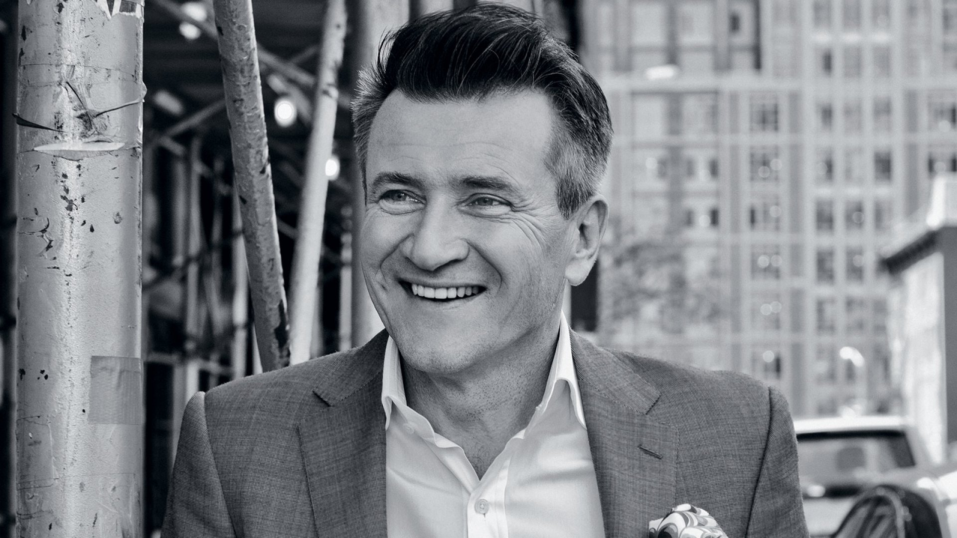 Robert Herjavec says he's learned much about being an entrepreneur from his time on <i>Shark Tank</i>, but his immigrant background has taught him his most important lesson: Treat others with respect, regardless of their economic status.