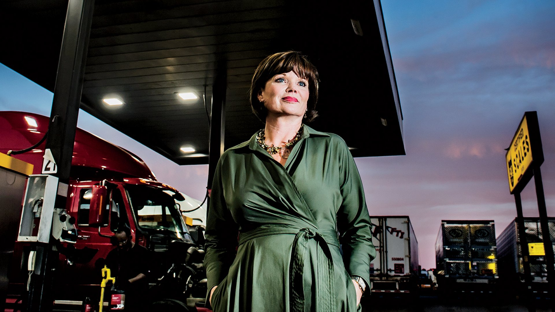 After surviving an abusive marriage, not much intimidates Tana Greene, including one of the most conservative industries on earth: trucking.