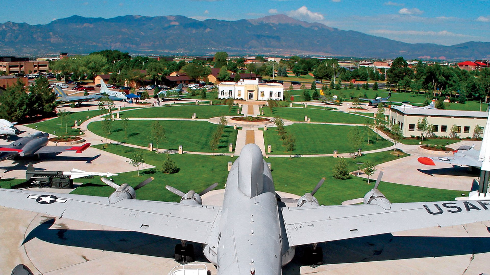 Colorado Springs is home to five military bases, including Peterson Air Force Base (pictured). In recent years, the Air Force has begun tapping the startup community for resources, and now runs its own accelerator, CyberWorx, at the Air Force Academy to prototype and commercialize technology faster.