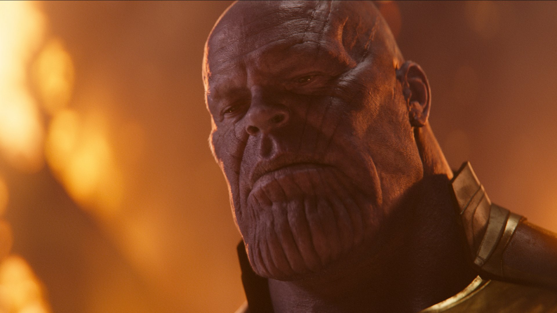 Josh Brolin as Thanos in <em>Avengers: Infinity War</em>