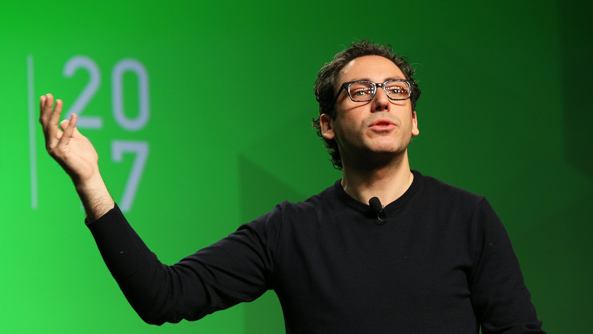 Warby Parker co-CEO Neil Blumenthal speaks at <em>Inc.</em>'s GrowCo Conference.
