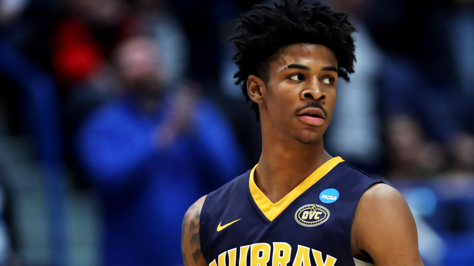 Murray State point guard Ja Morant.