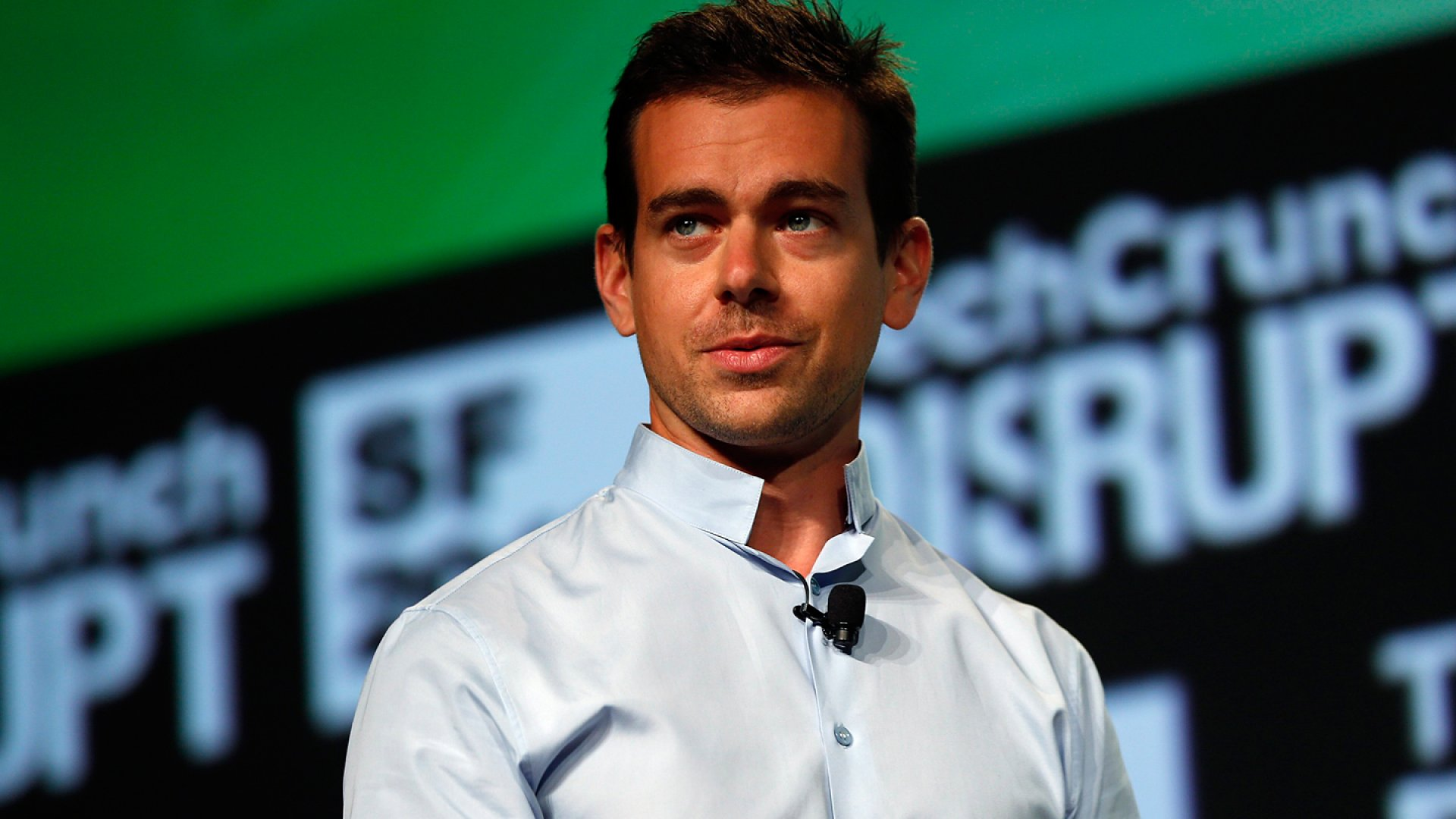 Jack Dorsey speaks onstage during Day One of TechCrunch Disrupt SF 2012.