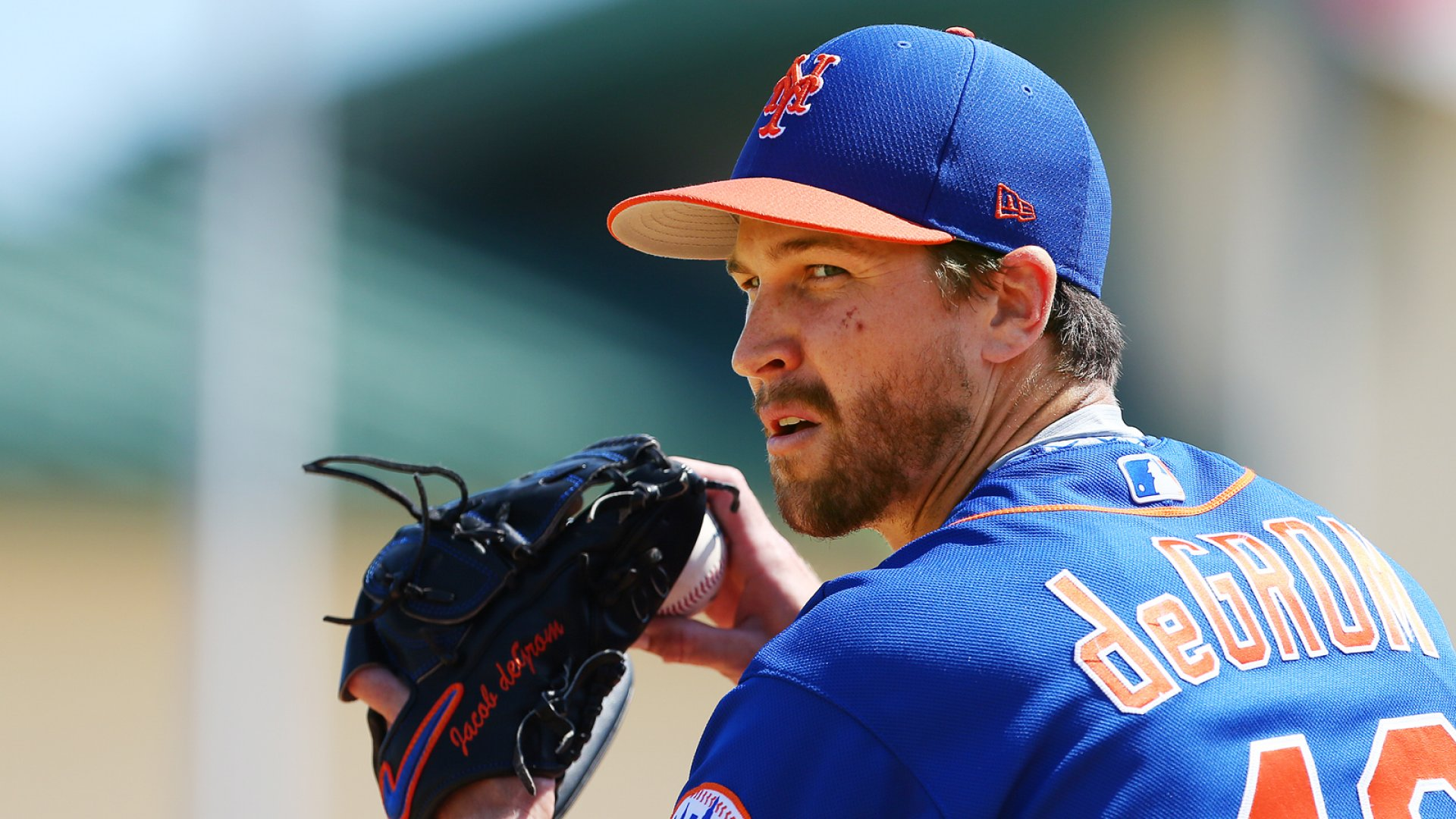 Jacob deGrom #48 of the New York Mets.