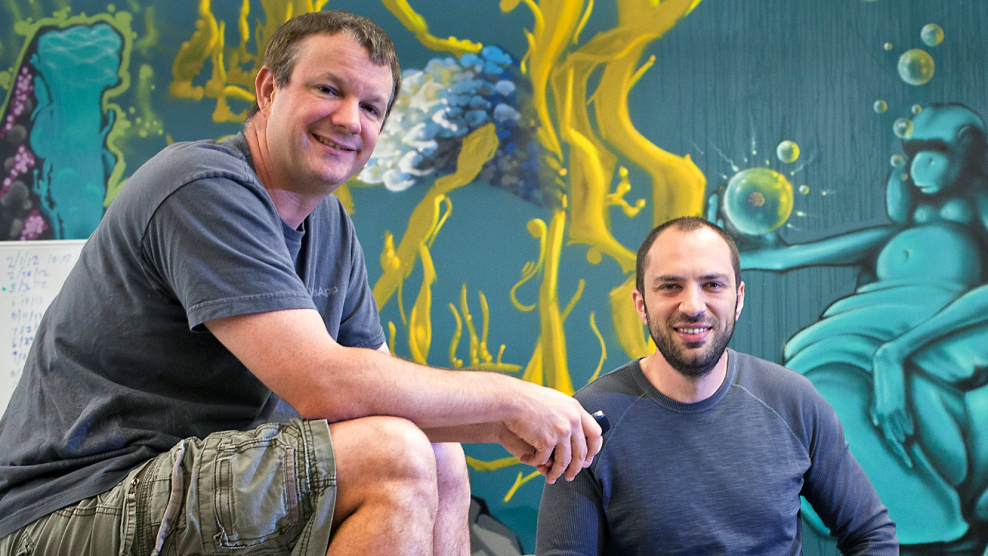 The Unlikely Founders Behind WhatsApp's Rise