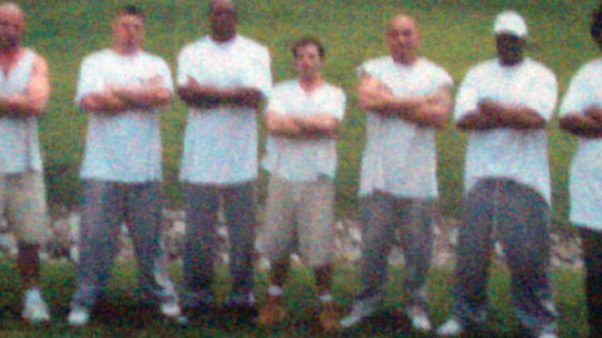 <strong>Incarceration</strong> Smith (center) with the prison warehouse crew in Manchester, Kentucky.