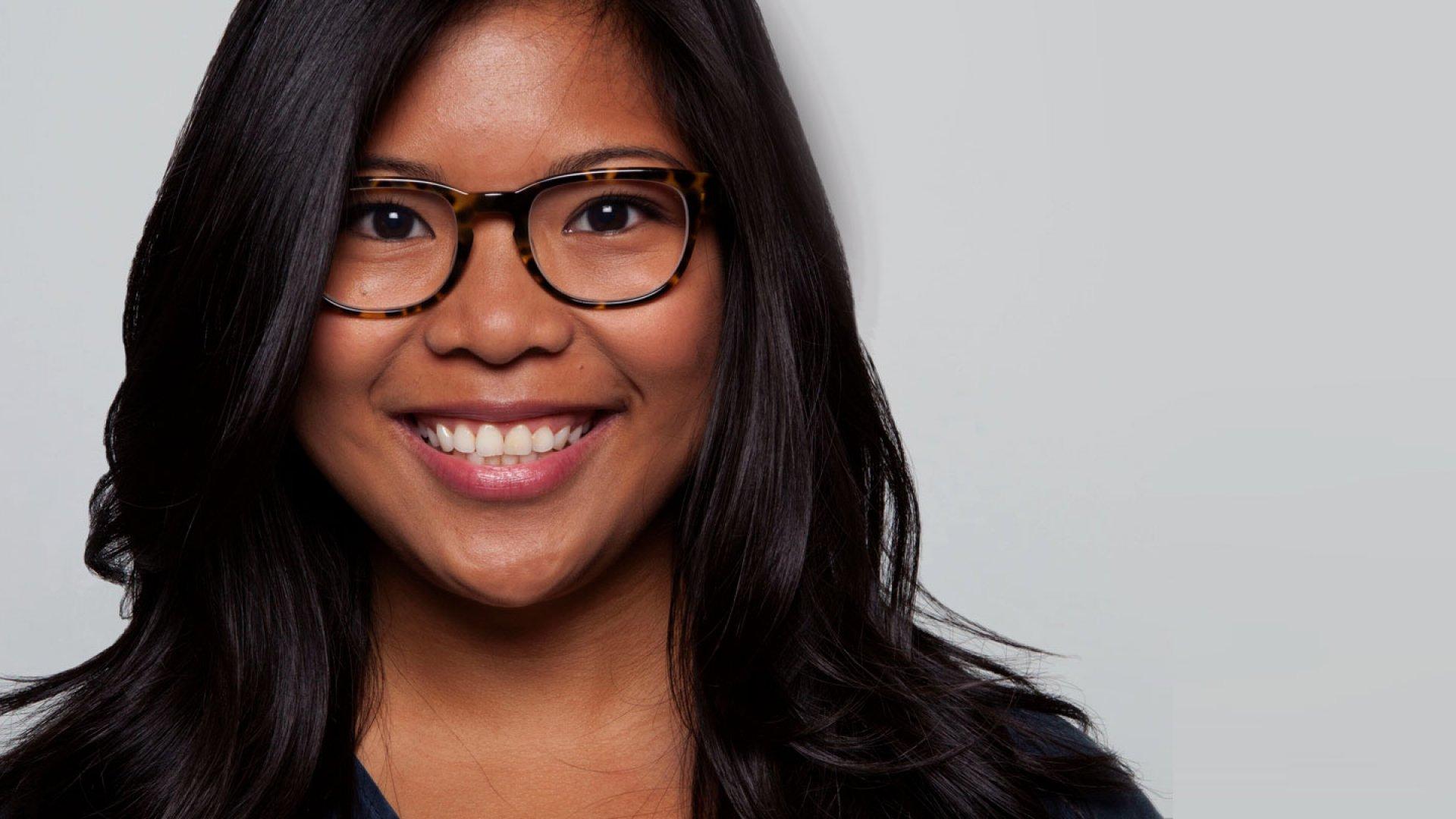 Jen Rubio, head of social media at Warby Parker