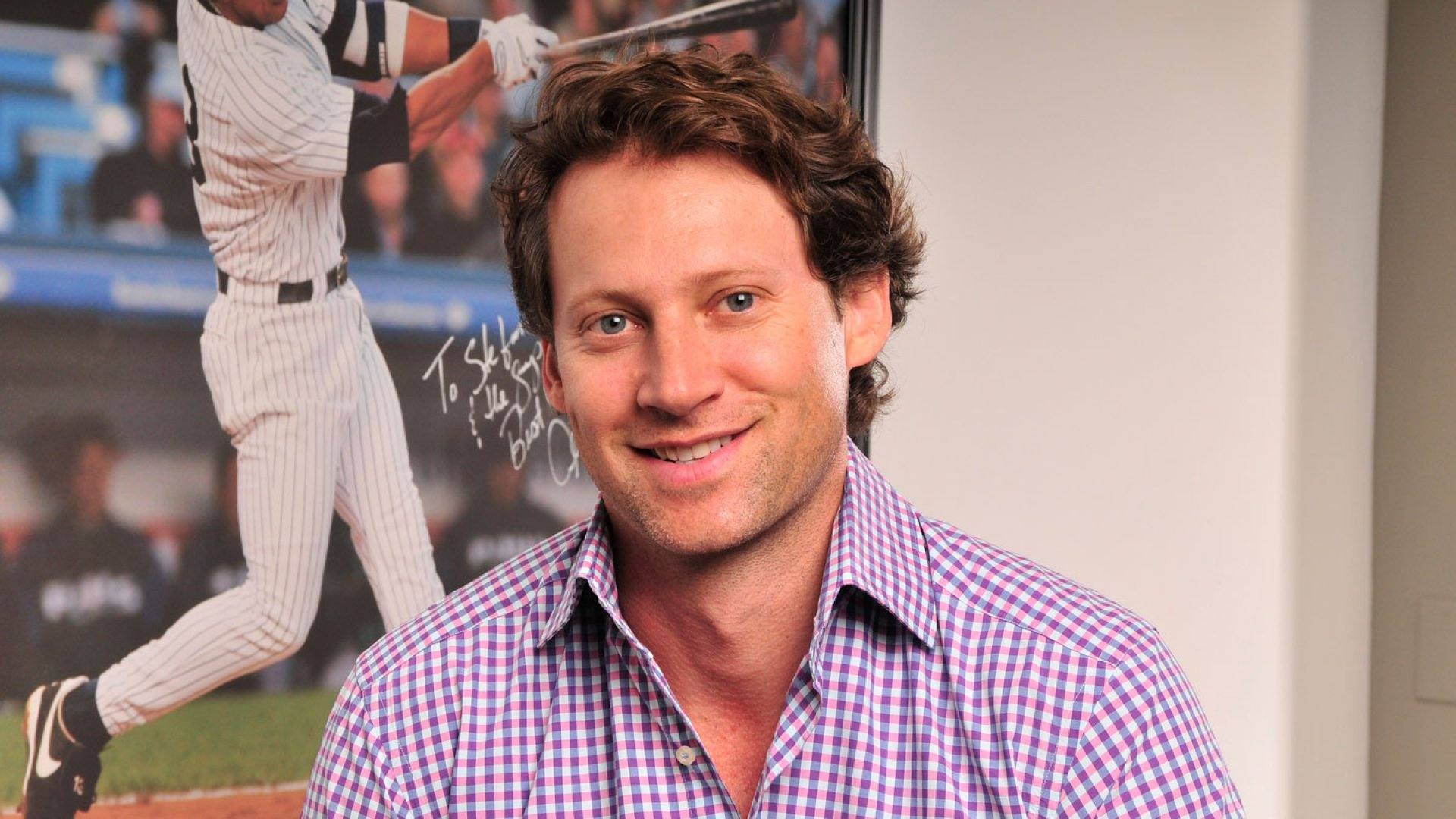 """""""I bought [SportsMemorabilia.com] and then realized that I know absolutely nothing about sports,"""" says Jesse Stein (above), who brought on Stefan Tesoriero (pictured below) as CEO and became the non-executive chairman."""