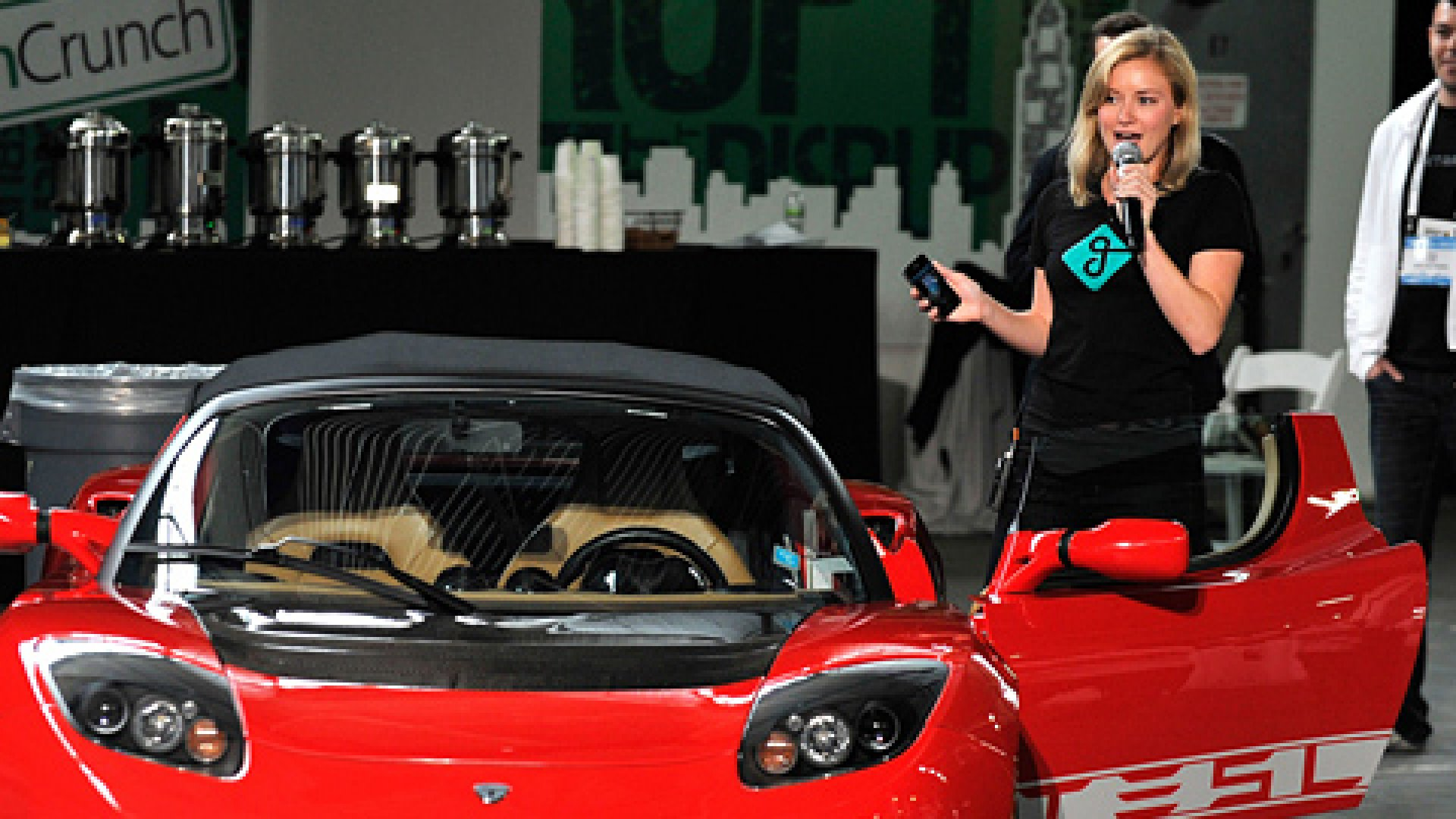 Jessica Scorpio of Getaround attends TechCrunch Disrupt New York May 2011