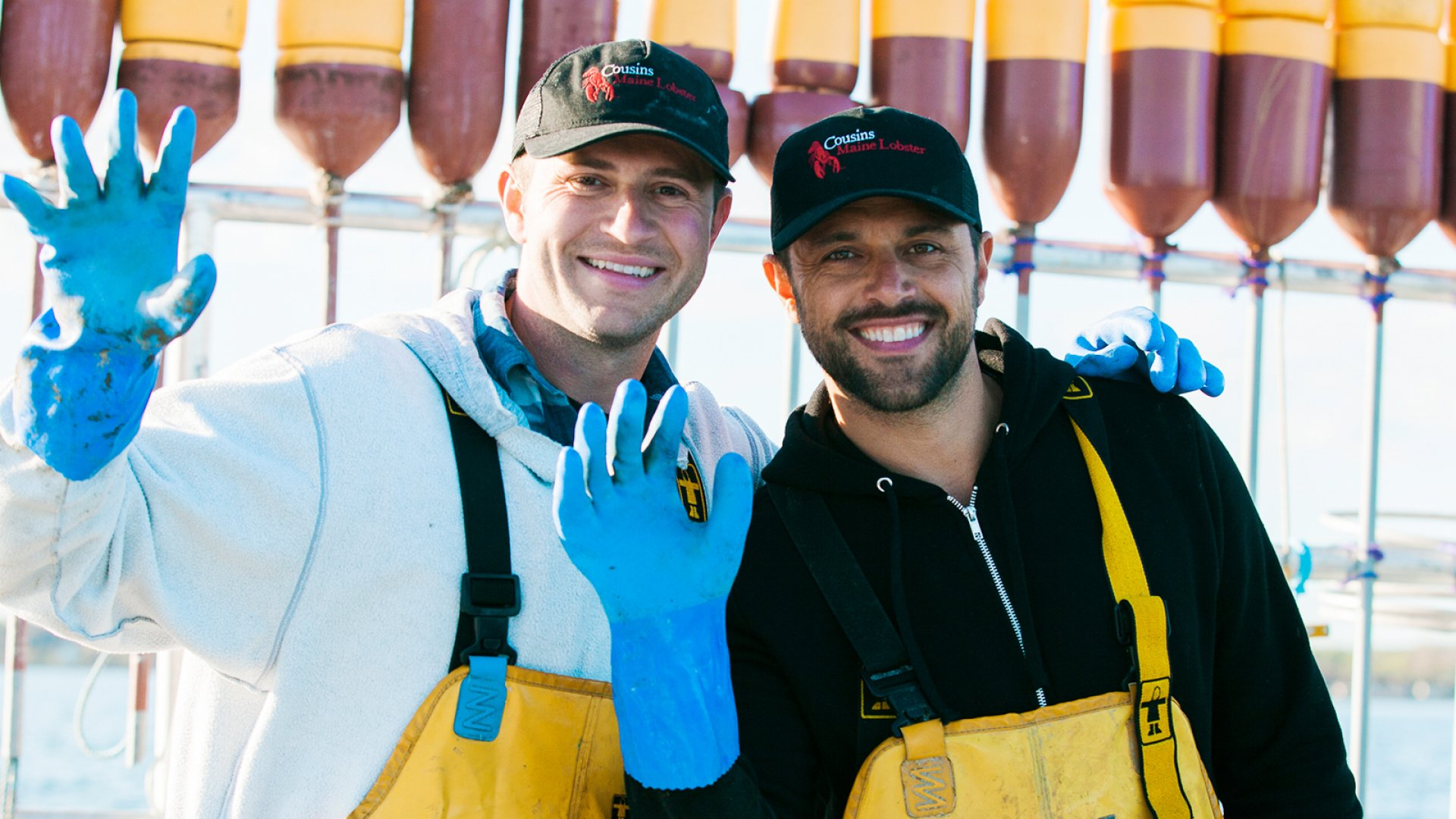 Cousins Maine Lobster co-founders Jim Tselikis (left) and Sabin Lomac.