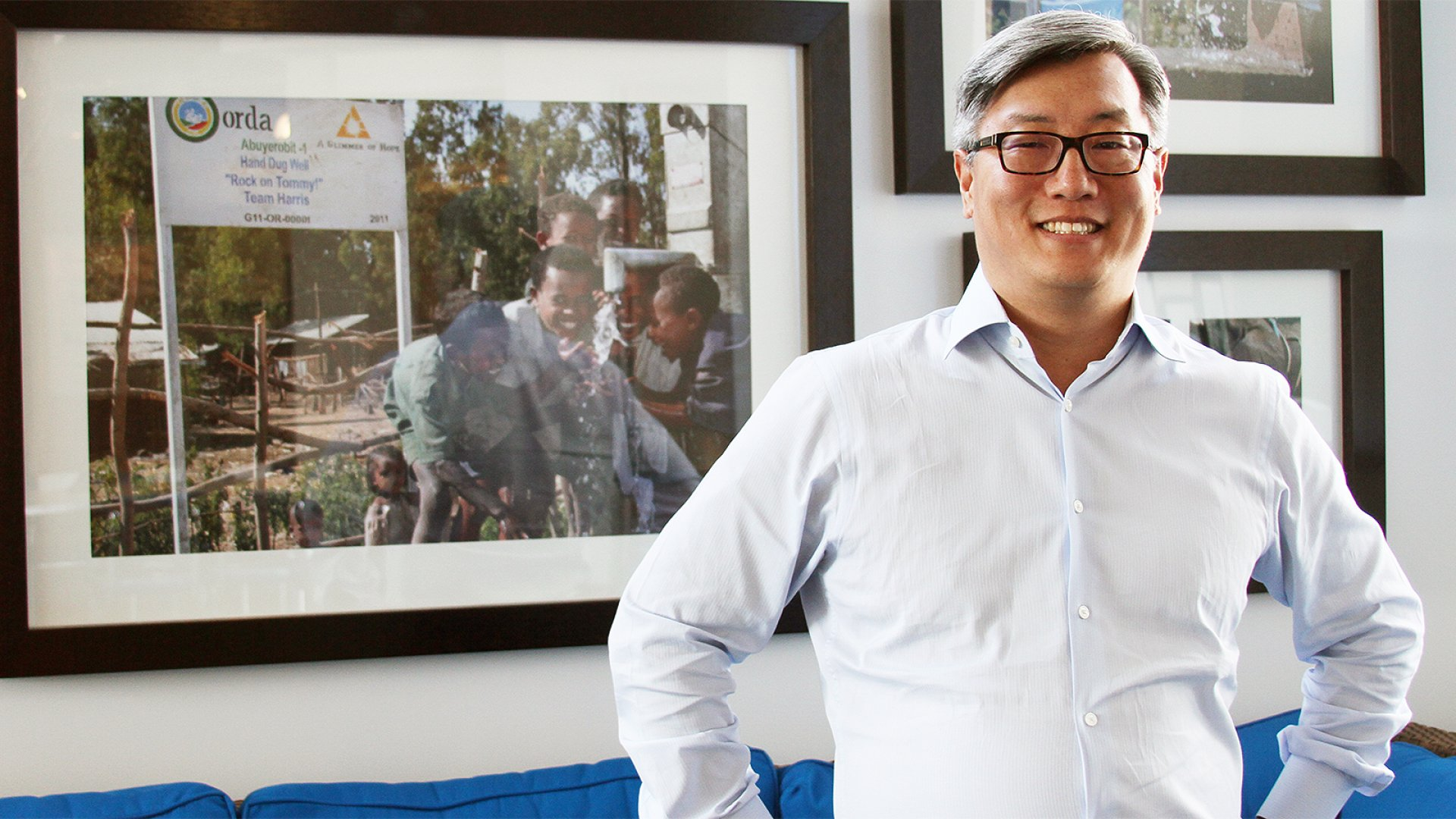 HomeAway President John Kim.