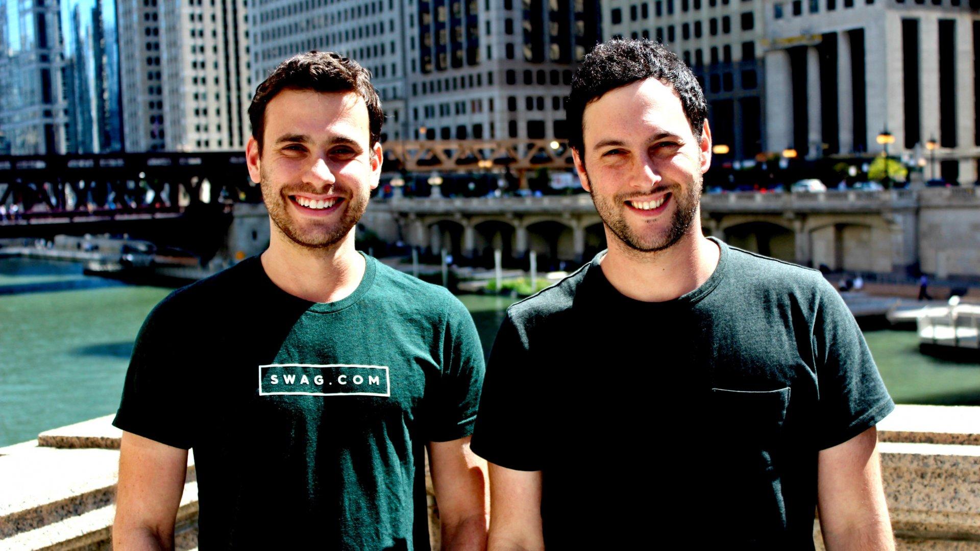 Josh Orbach (left) and Jeremy Parker