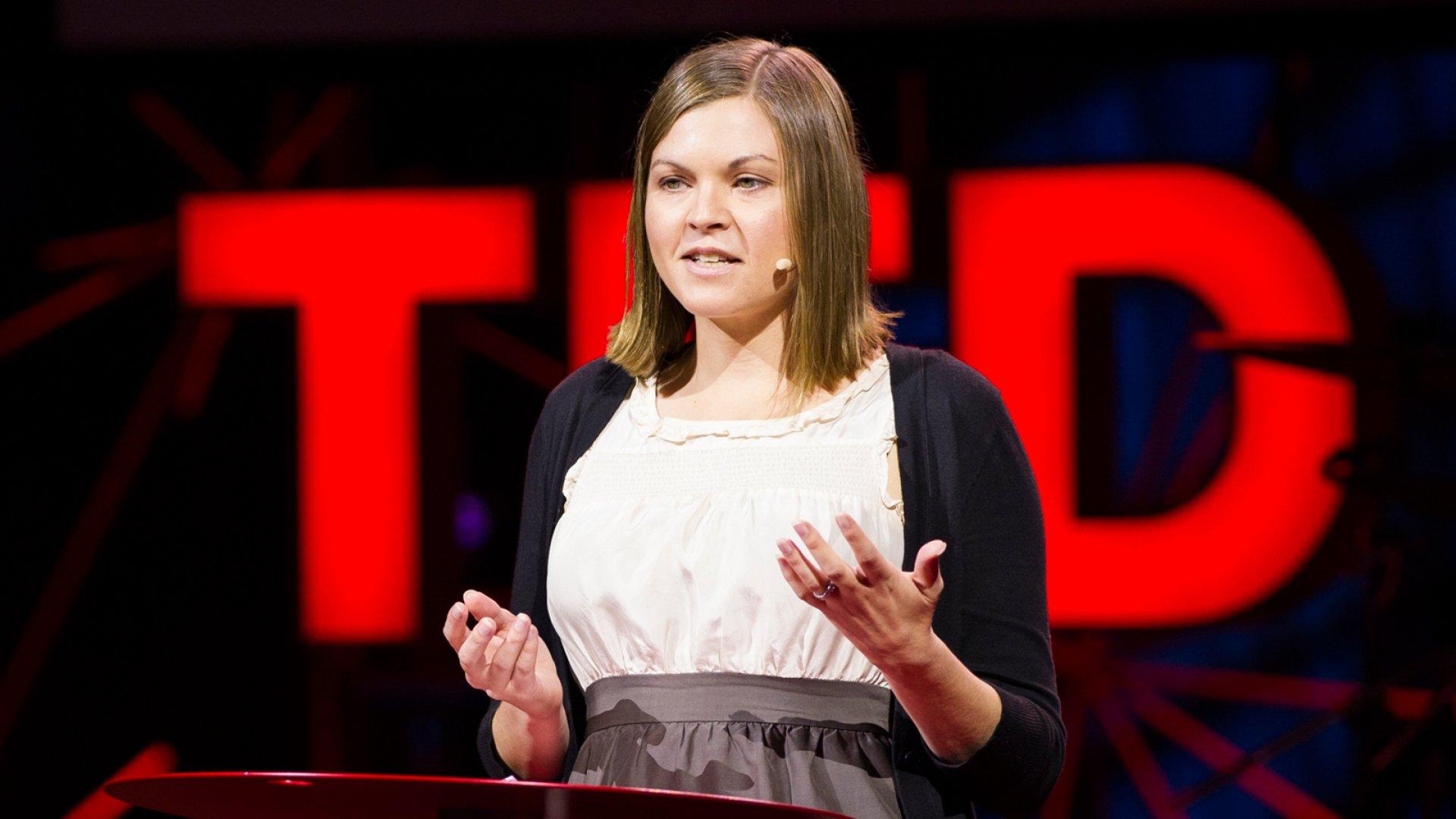 Karen Thompson Walker, novelist, speaks during Session 3: Building Blocks, at TEDGlobal 2012 on Tuesday, June 26, in Edinburgh, Scotland.