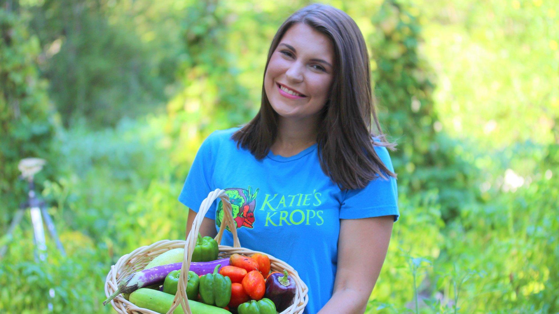 Katie's Krops founder Katie Stagliano.