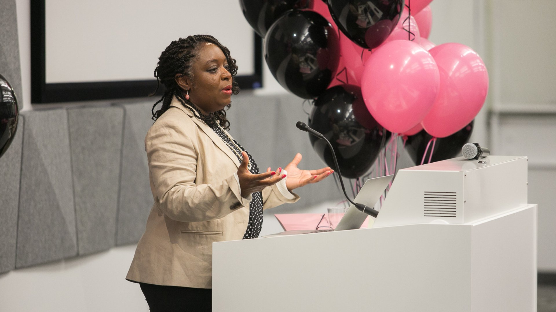Kimberly Bryant is the founder and CEO of Black Girls Code, a nonprofit that teaches computer programming to African-American girls.