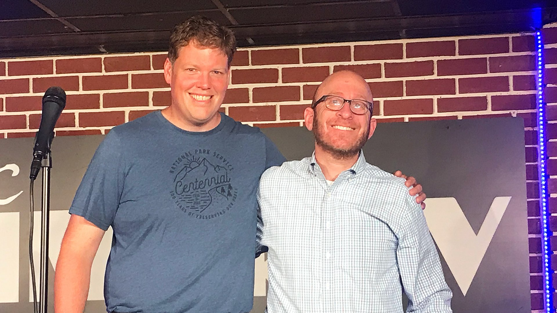 Kirk Drake and Joe Fuld successfully completed the Entrepreneur CEO Stand-Up Challenge at the DC Improv on August 13, 2018.