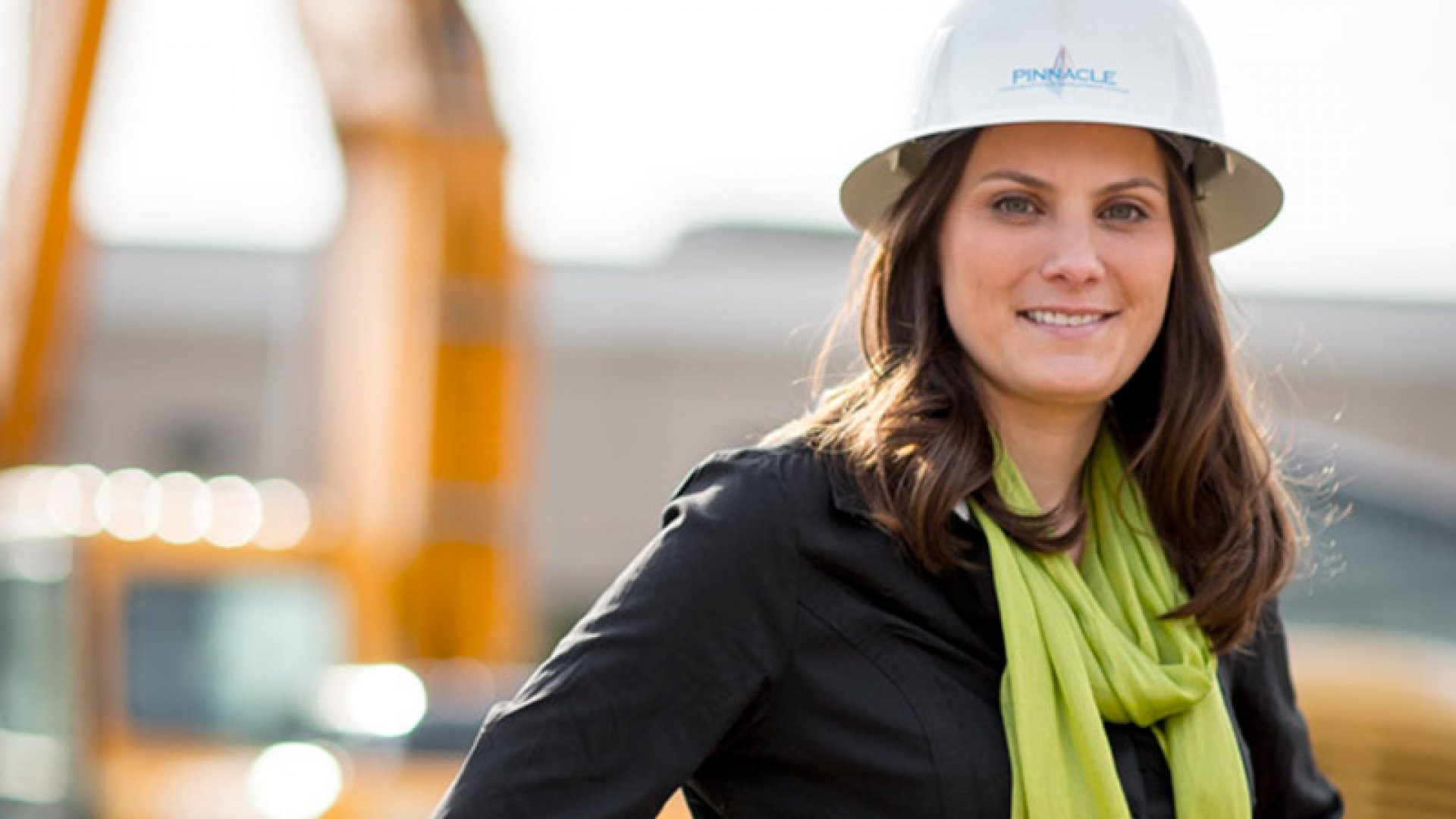 Lynlee Altman founded Cleveland's Pinnacle Construction in 2000. She credits her success largely to government contracts.