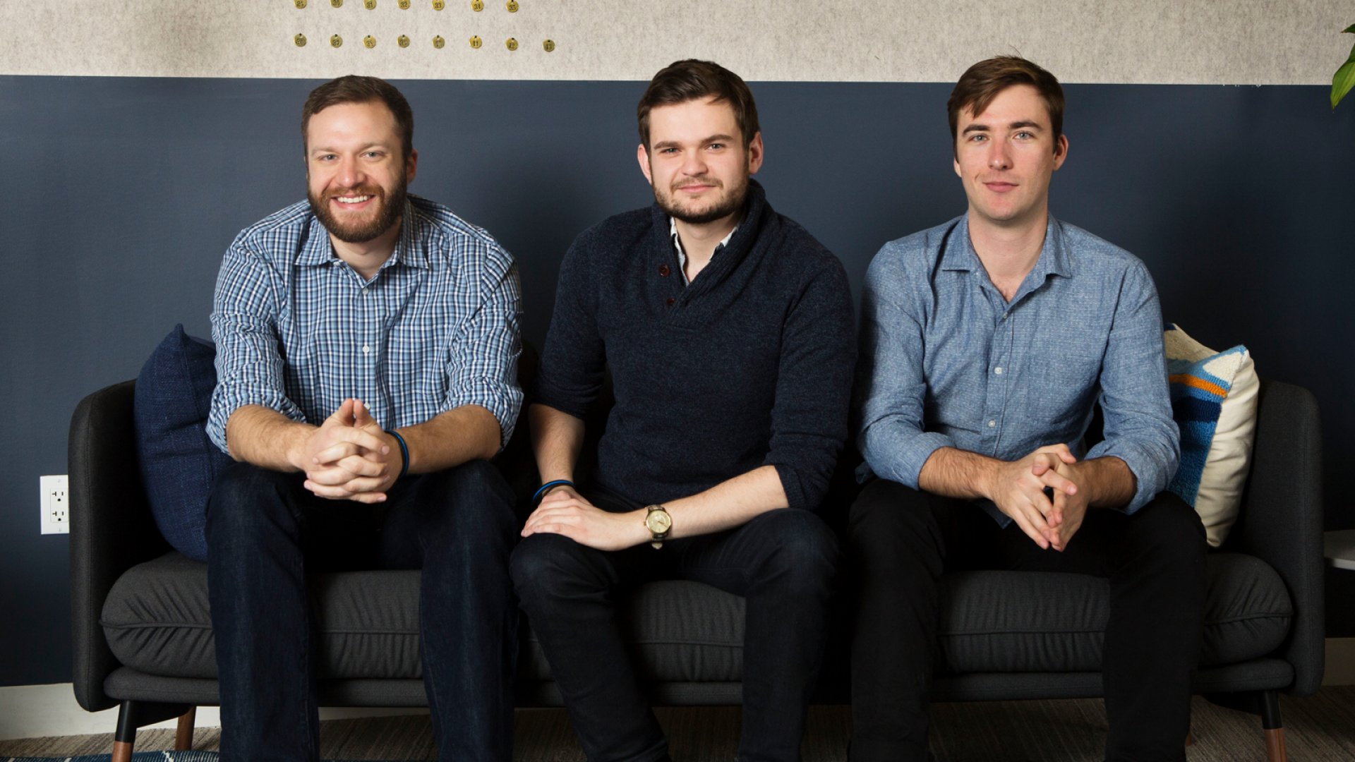 Mark43 co-founders Matthew Polega, Scott Crouch, and Florian Mayr.