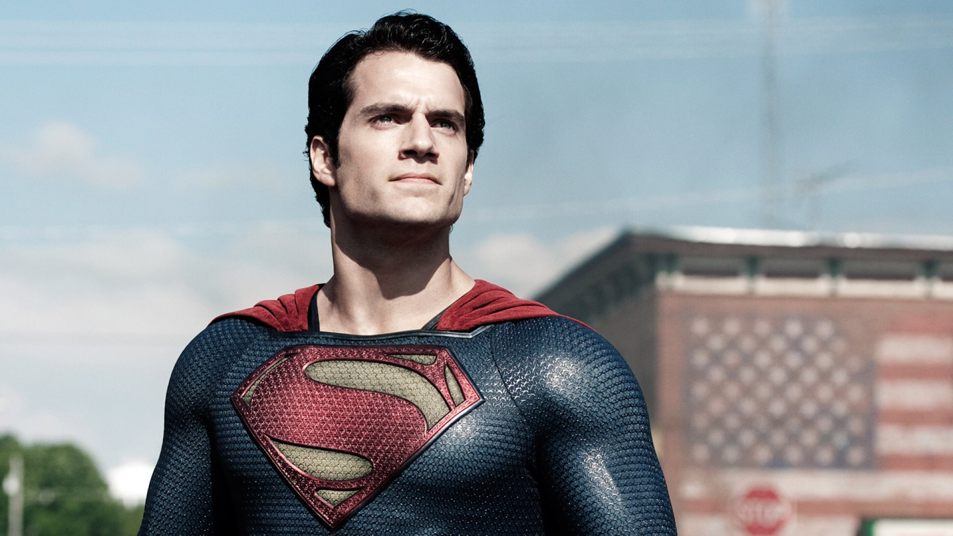 Henry Cavill, as Superman