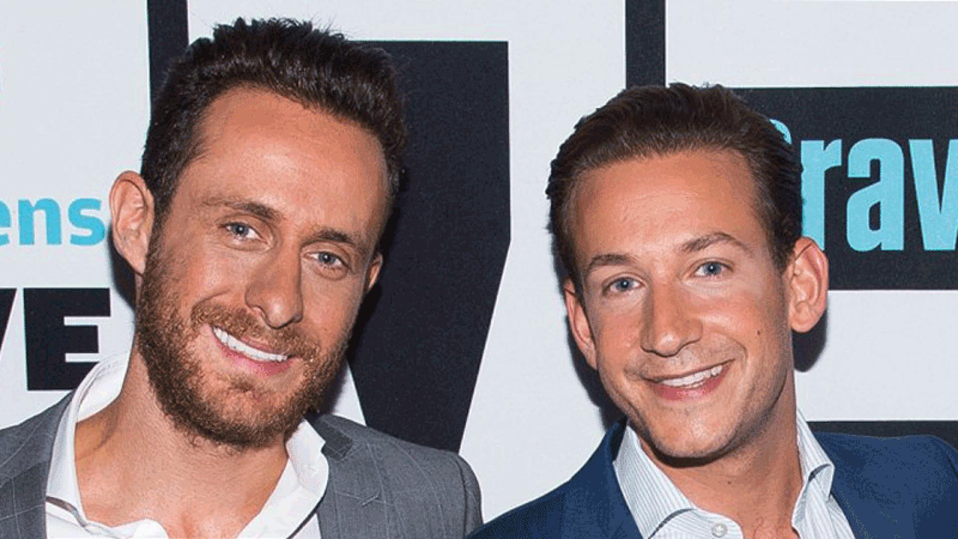 (L-R) 'Million Dollar Listing' stars David Parnes and James Harris.