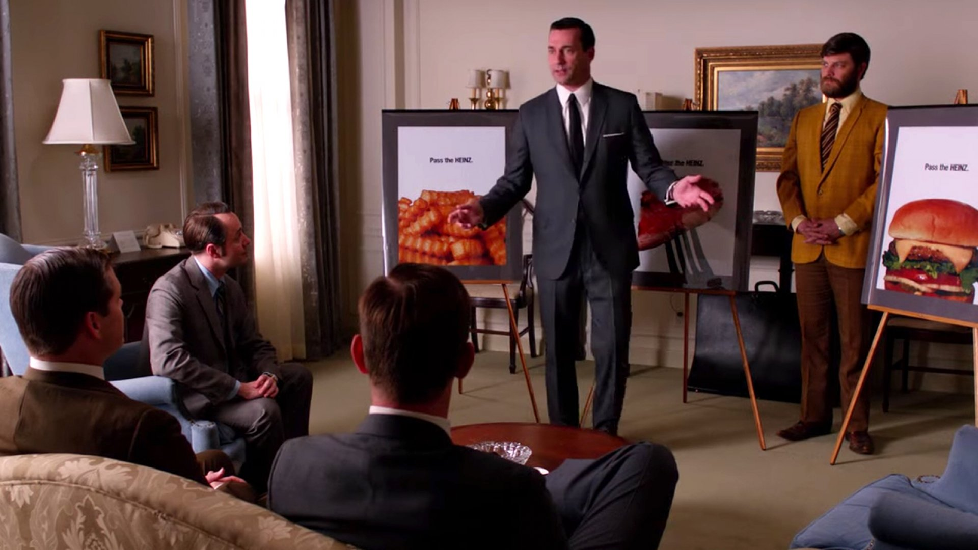 An episode of the TV show <em>Mad Men</em>.