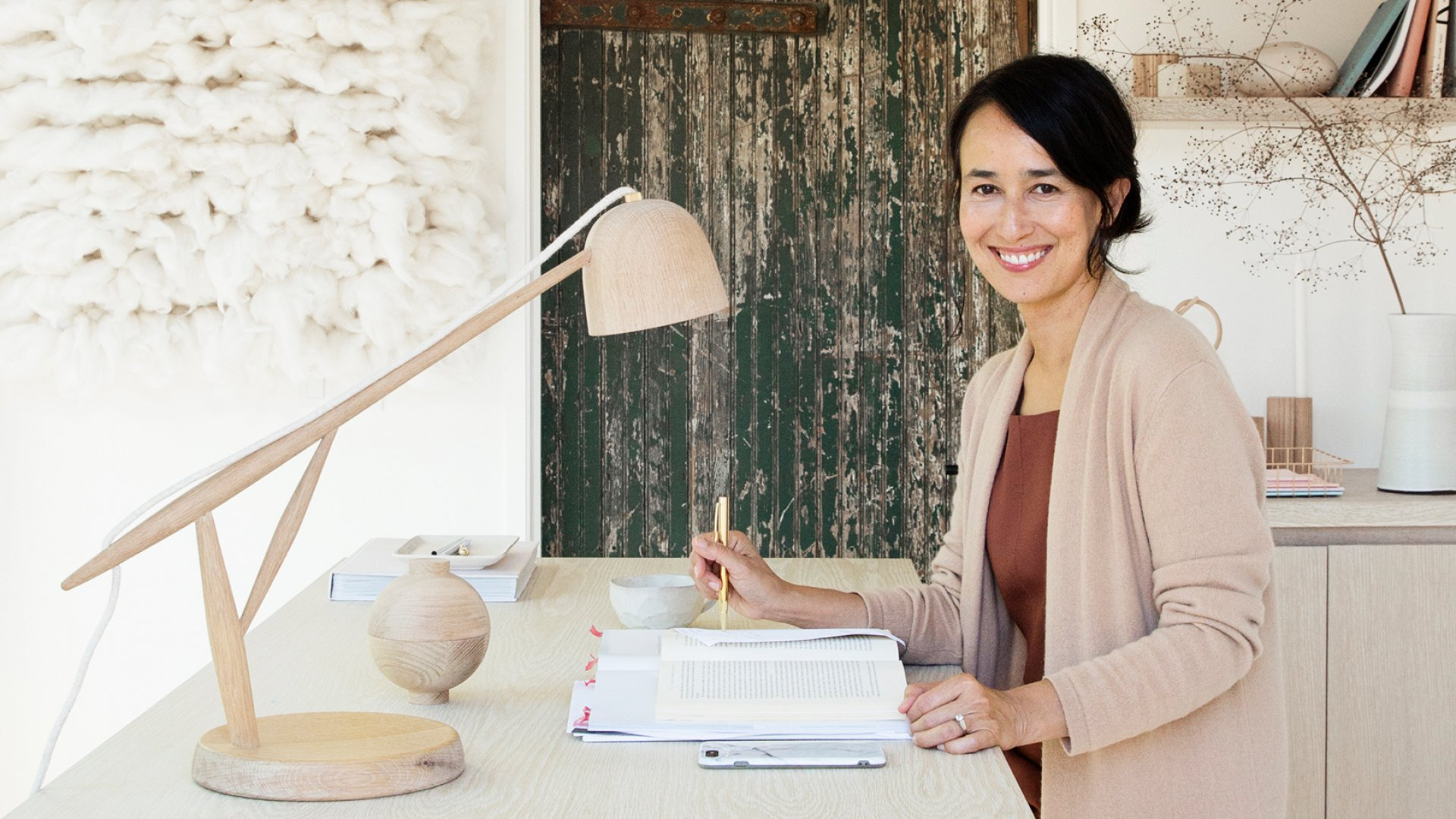 Founder and CEO of Minted, Mariam Naficy