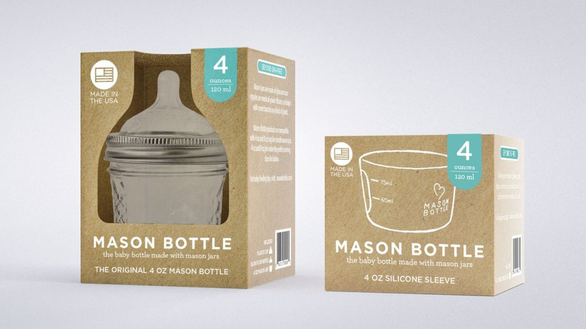 A Mason Bottle