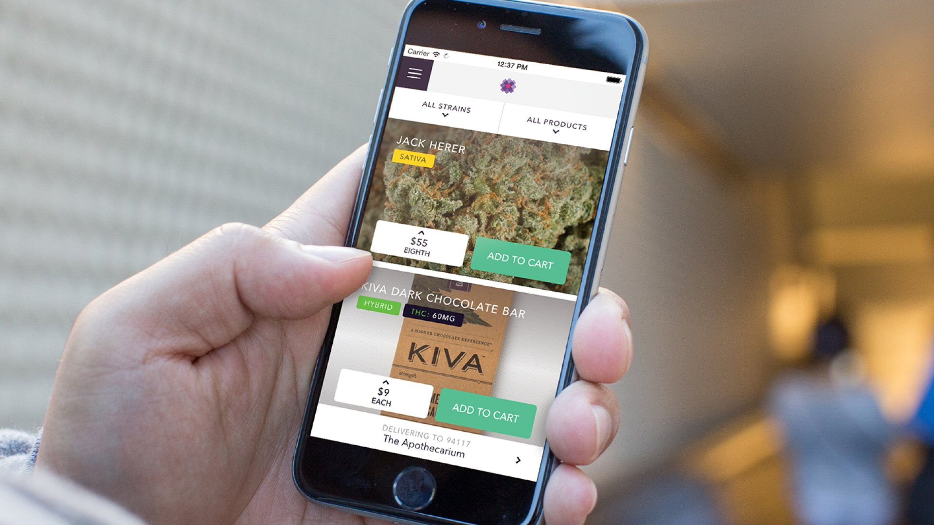 Meadow, a medical-cannabis-delivery app, works just like Uber for card-holding medical cannabis patients. The company recently graduated from Y Combinator's 2015 class and is helping San Francisco dispensaries make more sales and keep compliant with Meadow's enterprise software.